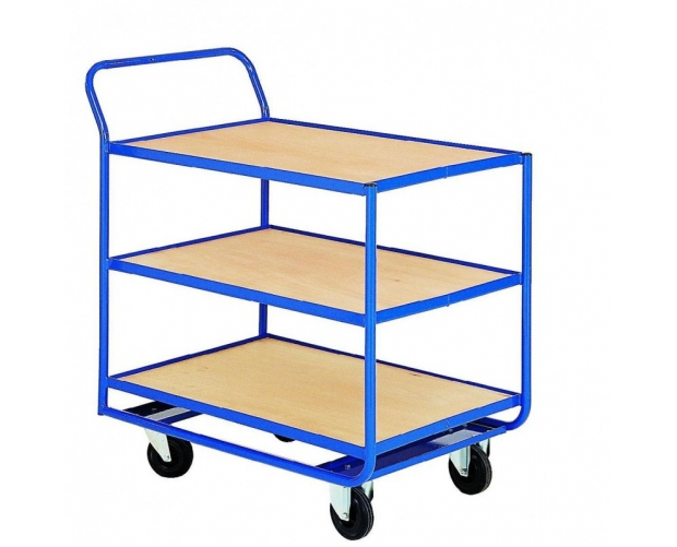 Warehouse trolley 3 levels PROVOST