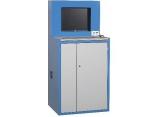 Workshop IT cupboard for flat screen PROVOST