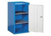 Tool cupboard width 500 mm 2 shelves PROVOST
