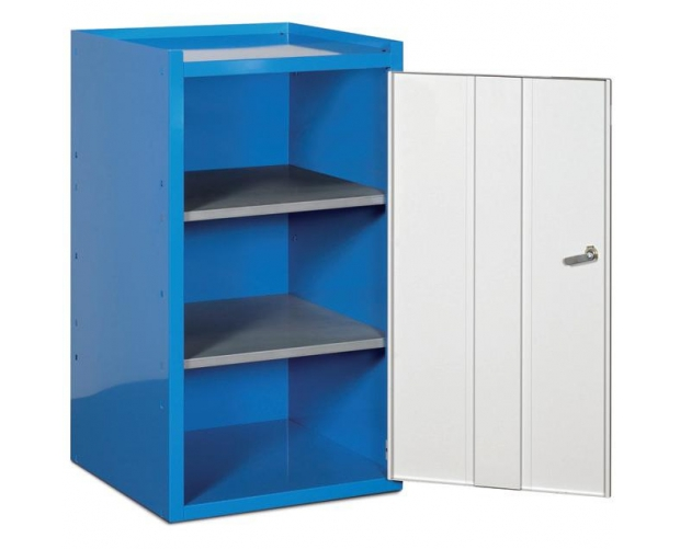 Tool cupboard width 500 mm 2 shelves