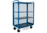 Promax trolley 2 levels tubular + door PROVOST