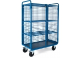 Promax trolley 2 levels mesh + door PROVOST