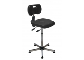 Asynchronous polyurethane seat without foot rest PROVOST