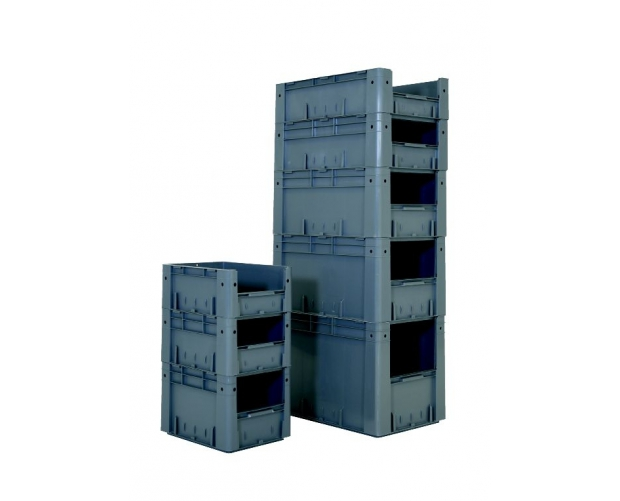 Stackable bins with front opening 600 x 400 PROVOST