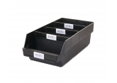 Set of Probox bins with removable dividers ESD PROVOST