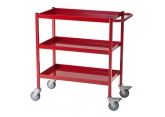 Workshop trolley red 3 levels 150 kg PROVOST