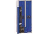 Single unit 2 in 1 locker PROVOST