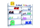 Shelving sump depth 600 mm galvanised uprights PROVOST
