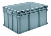 Stackable bin 800 x 600 grey PROVOST