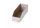 Greaseproof cardboard bin Procart 300 x 110 PROVOST