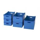 Polypropylene eco stackable crates P 485 x H 135 PROVOST