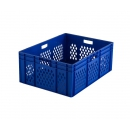 stackable crate with perforated sides PROVOST
