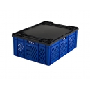 stackable crate with perforated sides 800x600 PROVOST