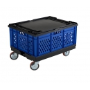 Blue stackable crate PROVOST