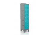 HDPE plastic locker clean manufacturing PROVOST