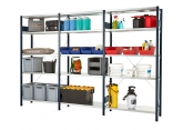 Prospace sheet metal - shelves galvanised PROVOST