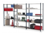 Prospace tubular painted/galvanised shelves h2000 PROVOST