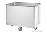Aluminium trolley with mobile base PROVOST