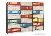 Prospace+ galvanised archive shelving PROVOST
