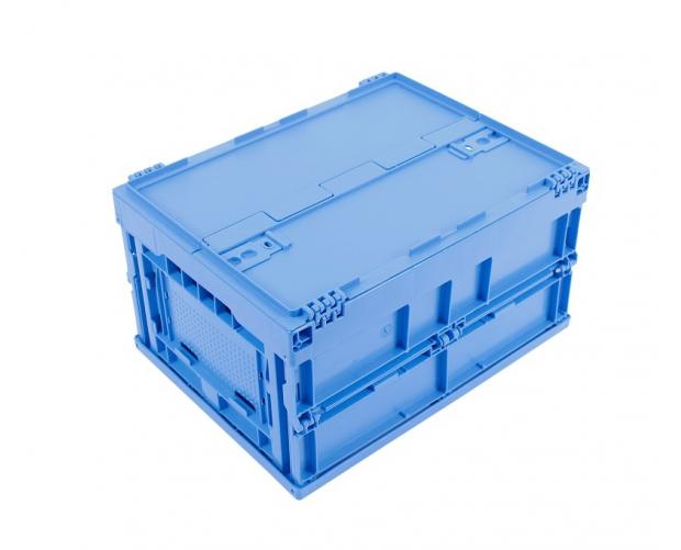 Folding bin integrated lid 400 x 300 PROVOST