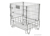 Zinc-plated folding container PROVOST