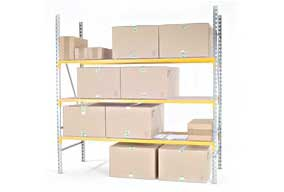 Shelving for bins PROVOST