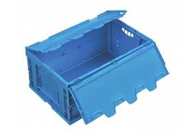 Foldable and folding bin  PROVOST