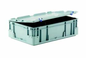 Plastic bin with cover PROVOST