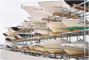 Dry boat storage PROVOST