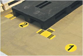 Floor marking PROVOST